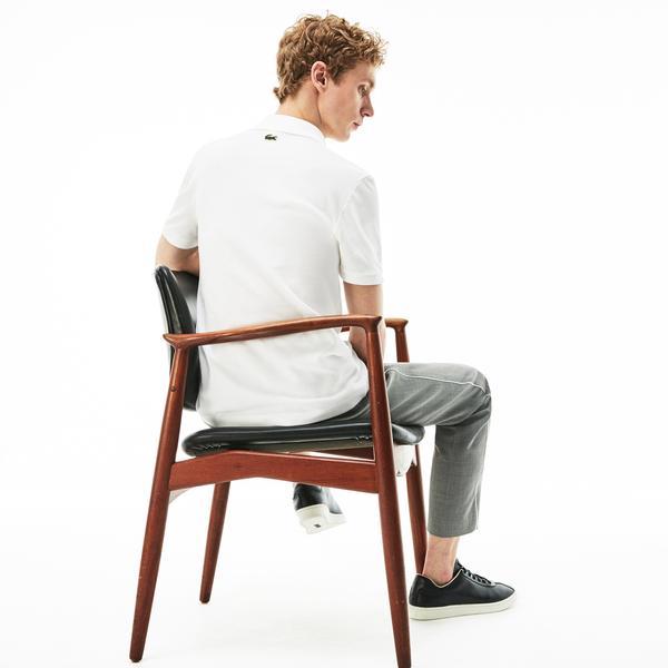 Lacoste Men's Slim Fit 3D Croc Cotton Petit Piqué Polo