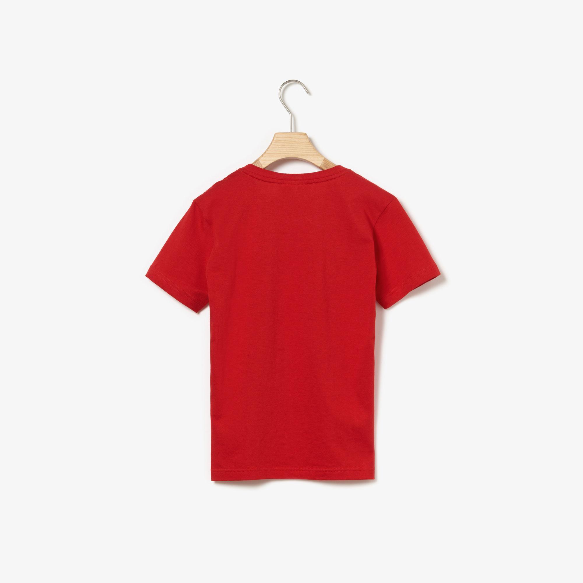 Lacoste Boy's Crew Neck Cotton Jersey T-Shirt