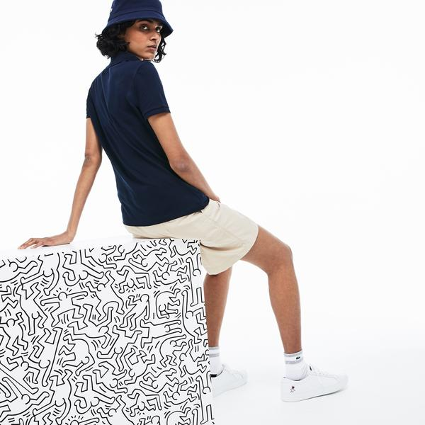 Lacoste X Keith Haring Women's Short Sleeve Polo
