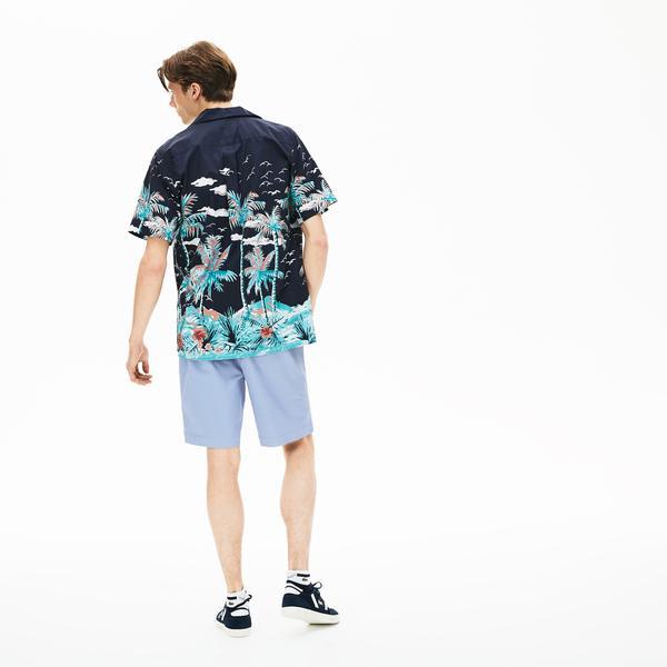 Lacoste Men's Regular Fit Cotton Gabardine Bermuda Shorts