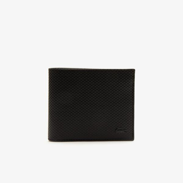 Lacoste Men's Chantaco Piqué Leather Wallet And Card Holder Set