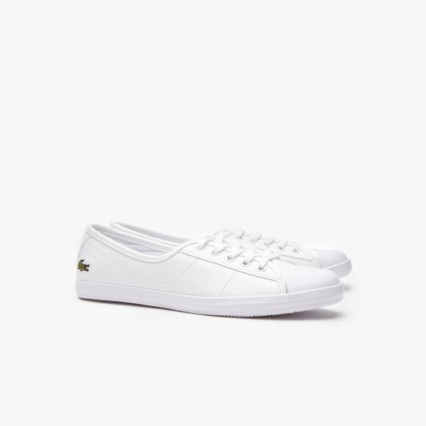 Lacoste Women's Ziane Leather Sneakers