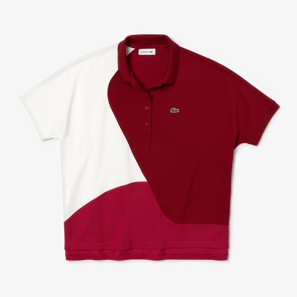 Lacoste Women's Colourblock Thermoregulating Piqué Polo Shirt