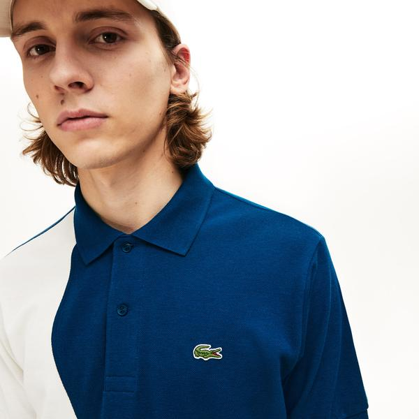 Lacoste Men's L.12.12 Colourblock Thermoregulating Piqué Polo Shirt