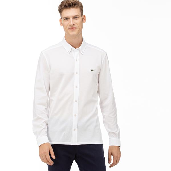 Lacoste Men's Slim Fit Cotton Jersey Shirt