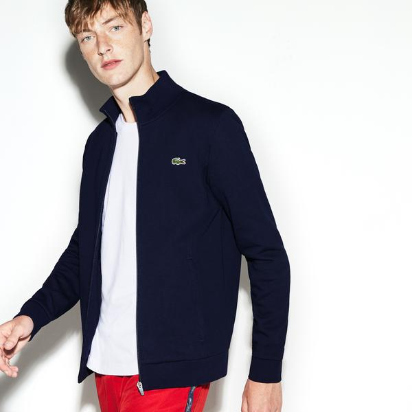 Lacoste Men's Sport Zip-Up Fleece Sweatshirt