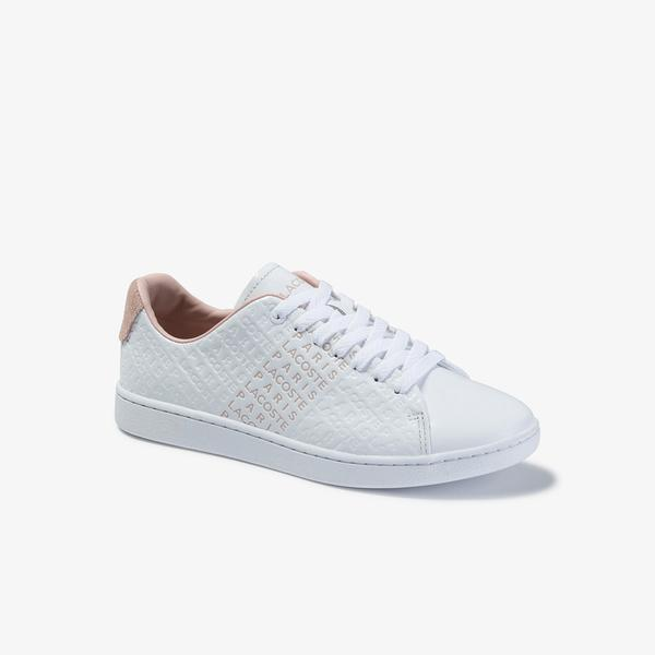 Lacoste Women's Carnaby Evo 120 3 Sfa Leather Sneakers