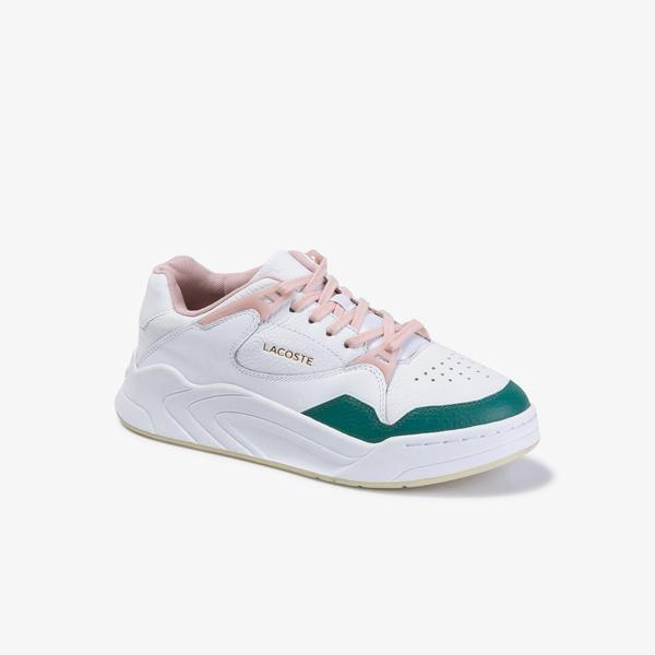 Lacoste Women's Court Slam 120 2 Sfa Leather Sneakers