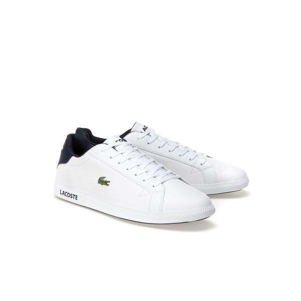 Lacoste GRADUATE LCR3 Men's Premium Leather Sneakers