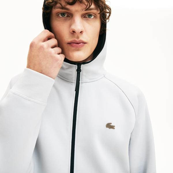Lacoste Men's Motion Hooded Zip Sweatshirt