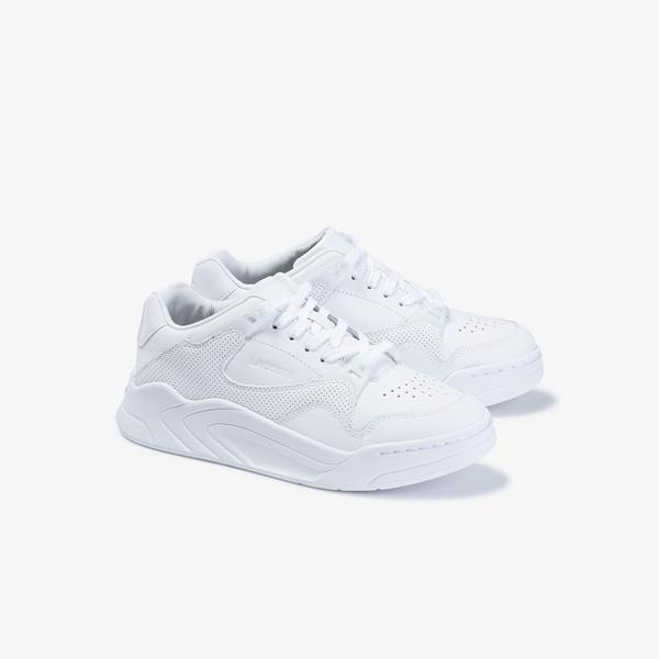 Lacoste Women's Court Slam Tonal Leather Sneakers