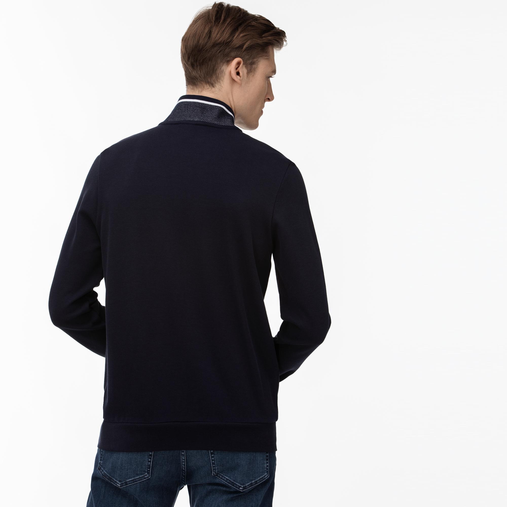Lacoste Men's Zipped Sweatshirt