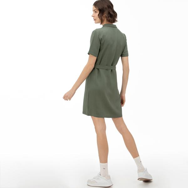 Lacoste Women's Short Sleeve Dress