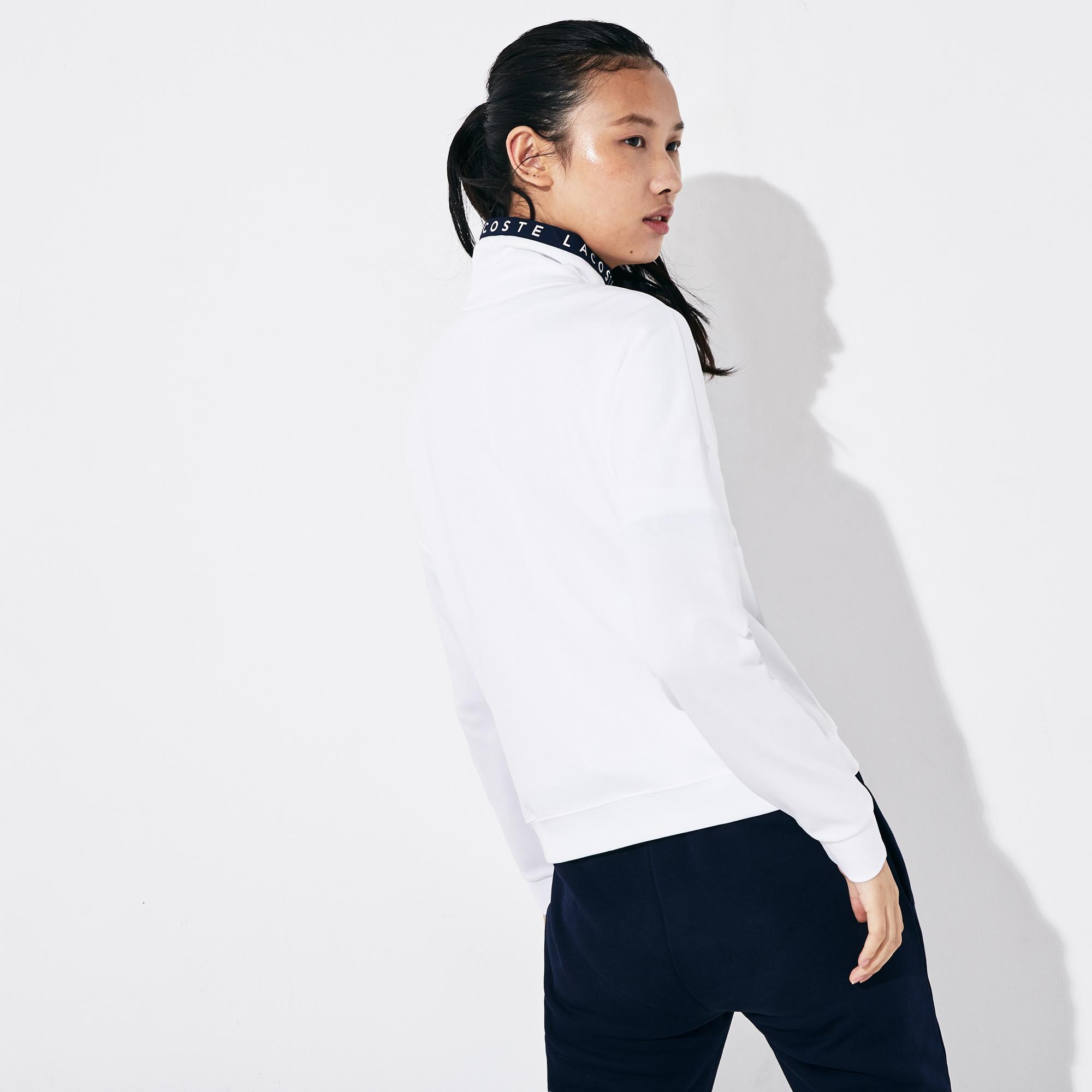 Lacoste Women's SPORT Zip-Up Tennis Sweatshirt