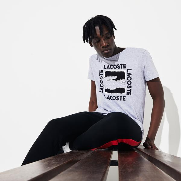 Lacoste Men's Sport 3D Print T-Shirt