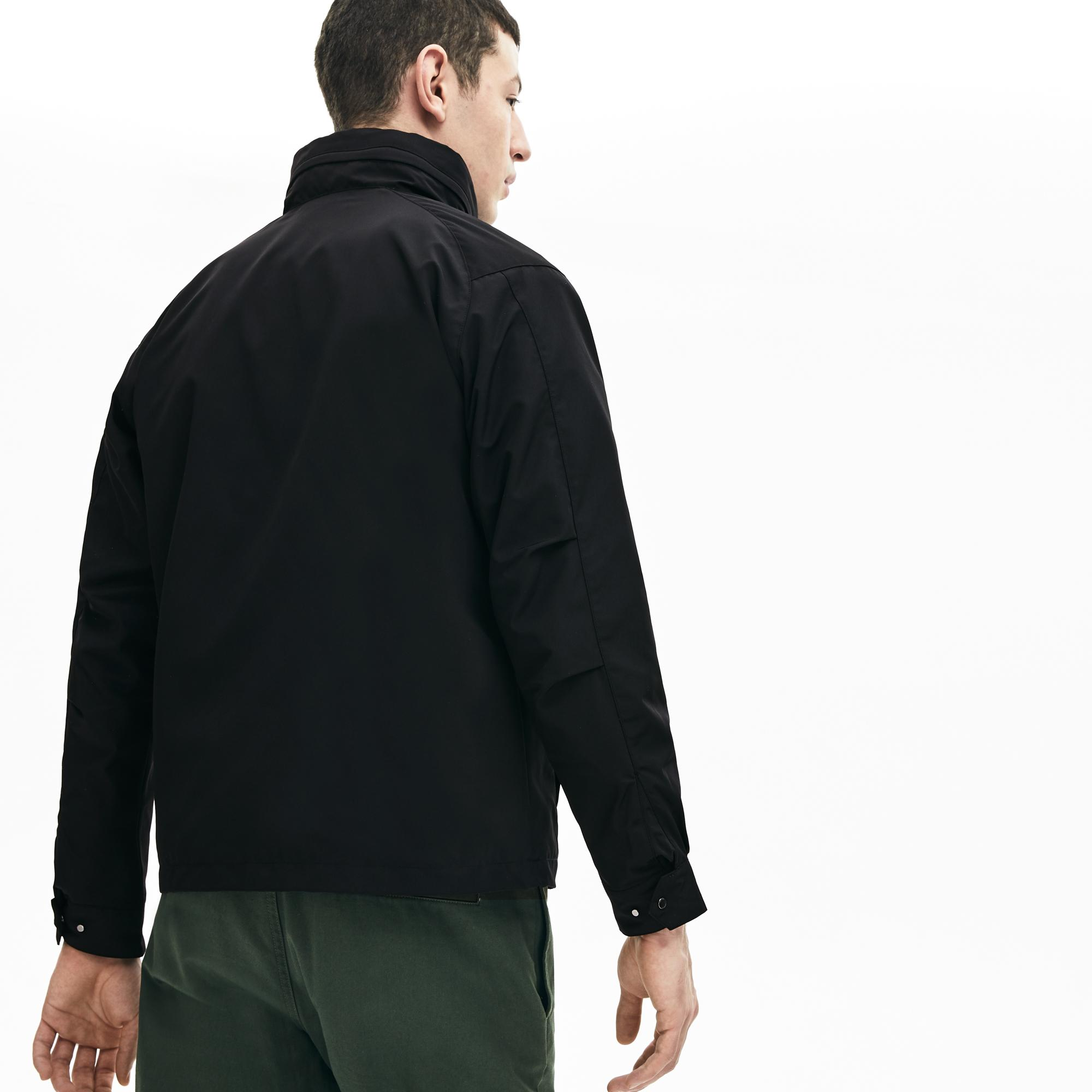Lacoste Men's Lightweight Water-Resistant Zip Windbreaker