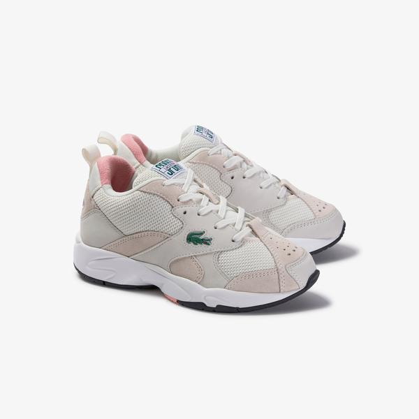 Lacoste Women's Storm 96 120 3 Us Sfa Leather Sneakers