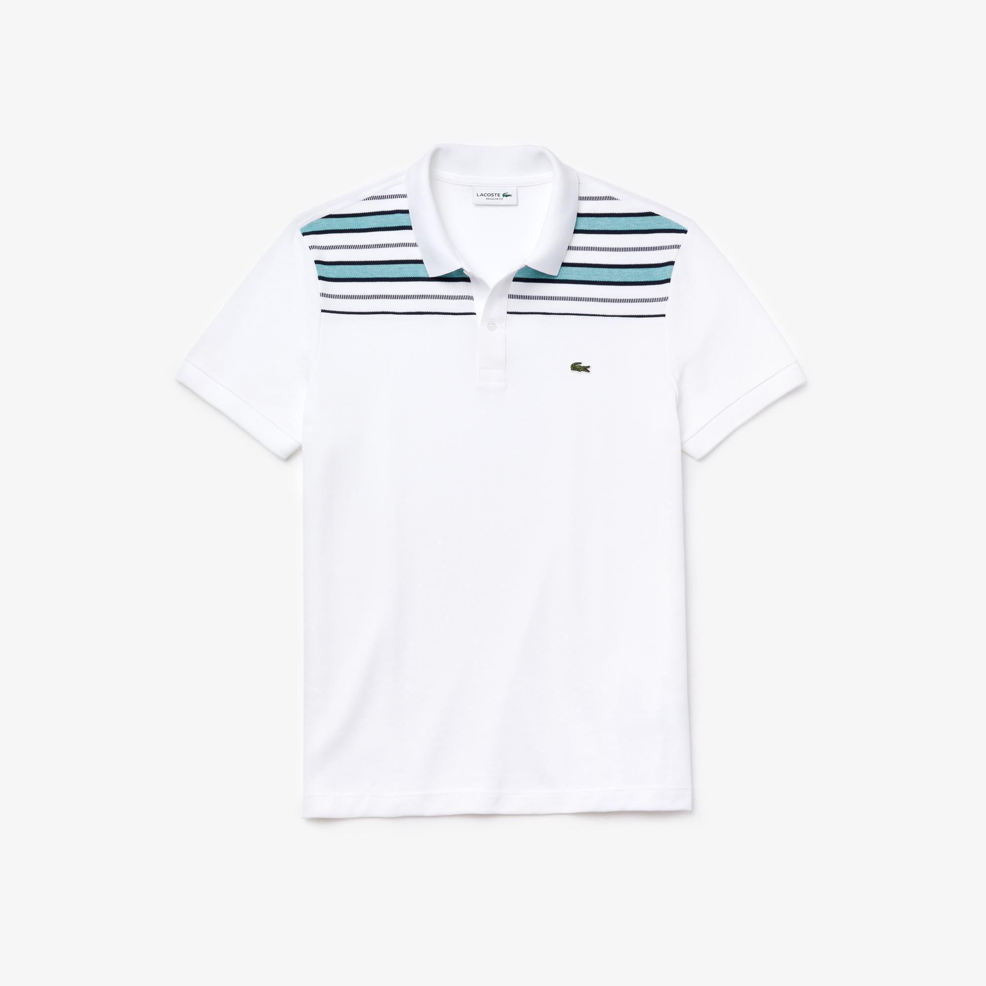 Lacoste Men's Striped Pane Polo