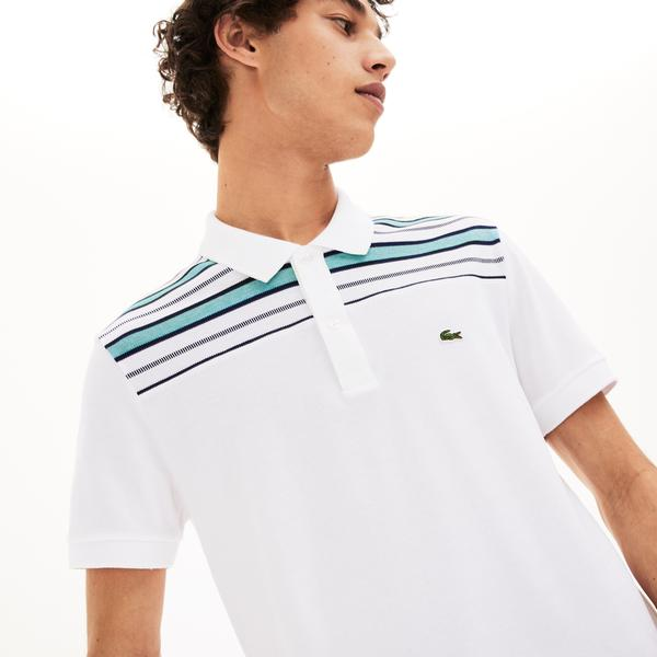 Lacoste Men's Striped Pane Polo