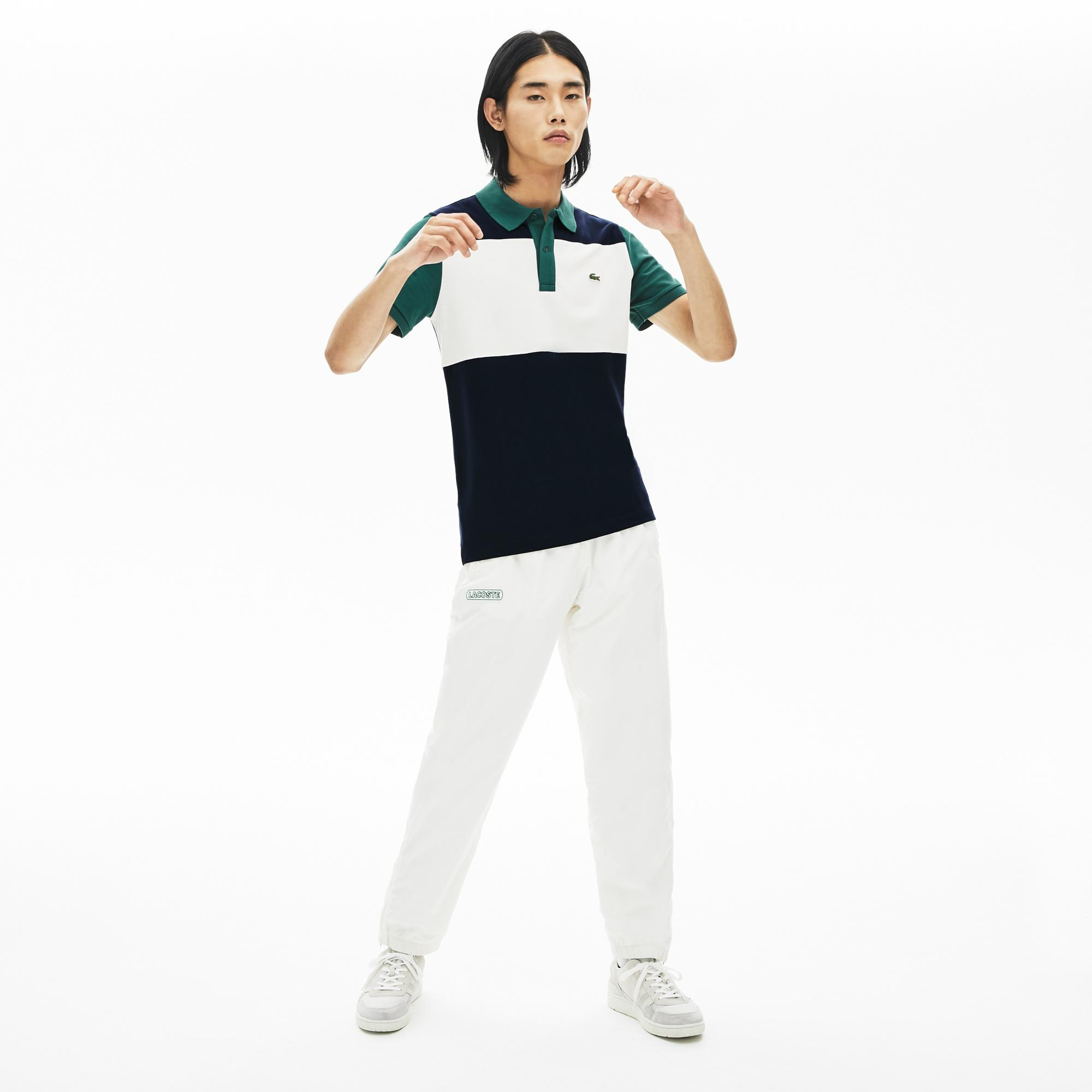 Lacoste Men's Stretch Colourblock Polo