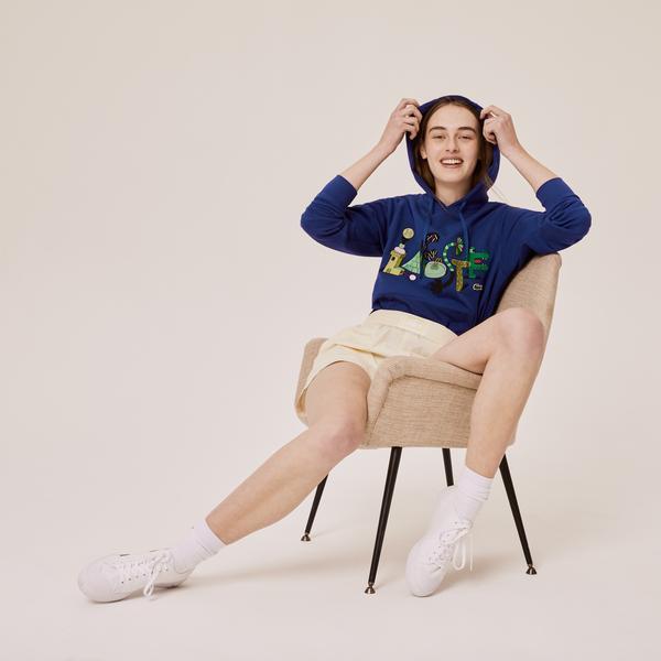 Lacoste Men's Graphic Hooded Sweatshirt
