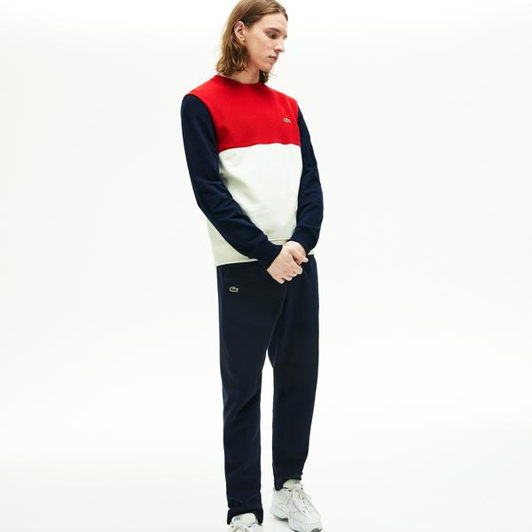 Lacoste Men's Colourblock Crew Neck Sweatshirt