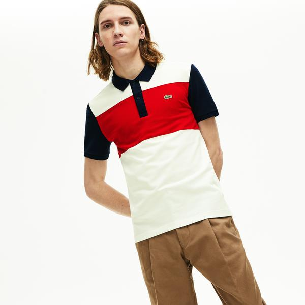 Lacoste Men's Stretch Colourblock Polo