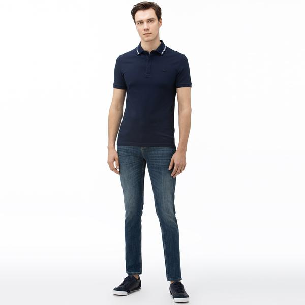 Lacoste Men's Slim Fit Stretch Denim 5-Pocket Jeans