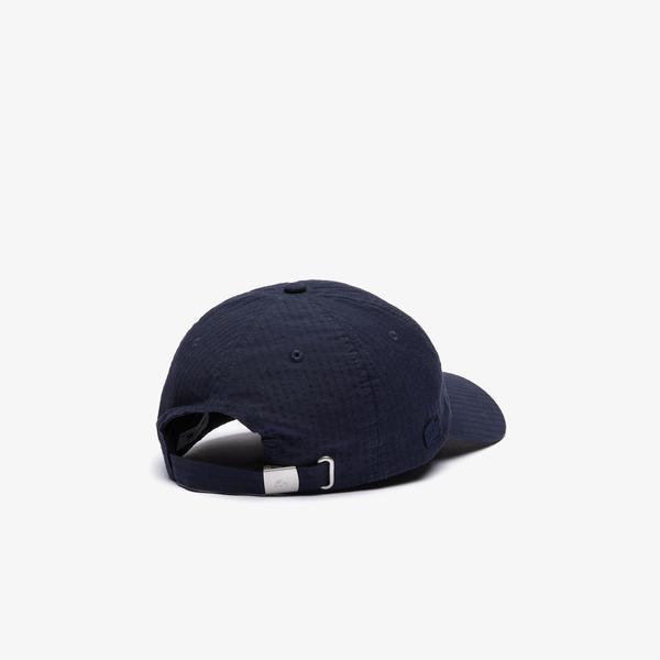 Lacoste Men's Lightweight Cotton And Linen Cap