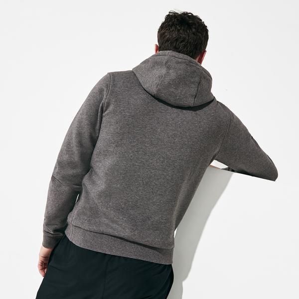 Lacoste Sport Men's Hooded Fleece Tennis SweatShirt