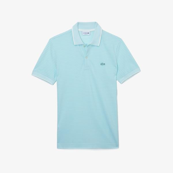 Lacoste Men's Regular Fit Striped Polo