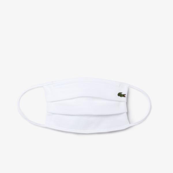 Lacoste L.12.12 Face Protection Mask In Cotton Piqué