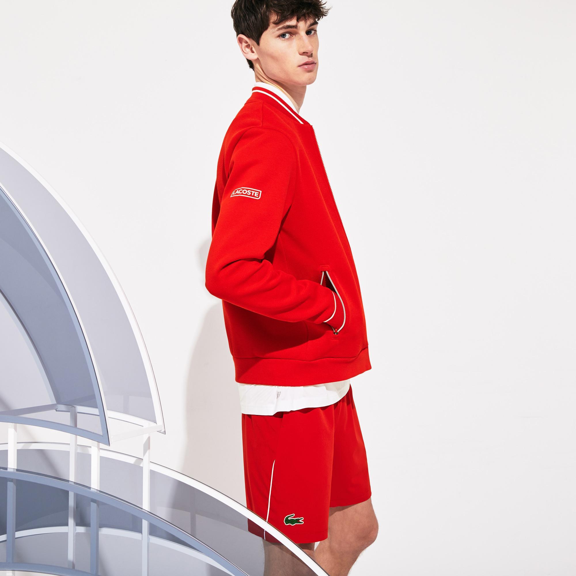 Lacoste Men's Sport Roland Garros X Novak Djokovic Jacket