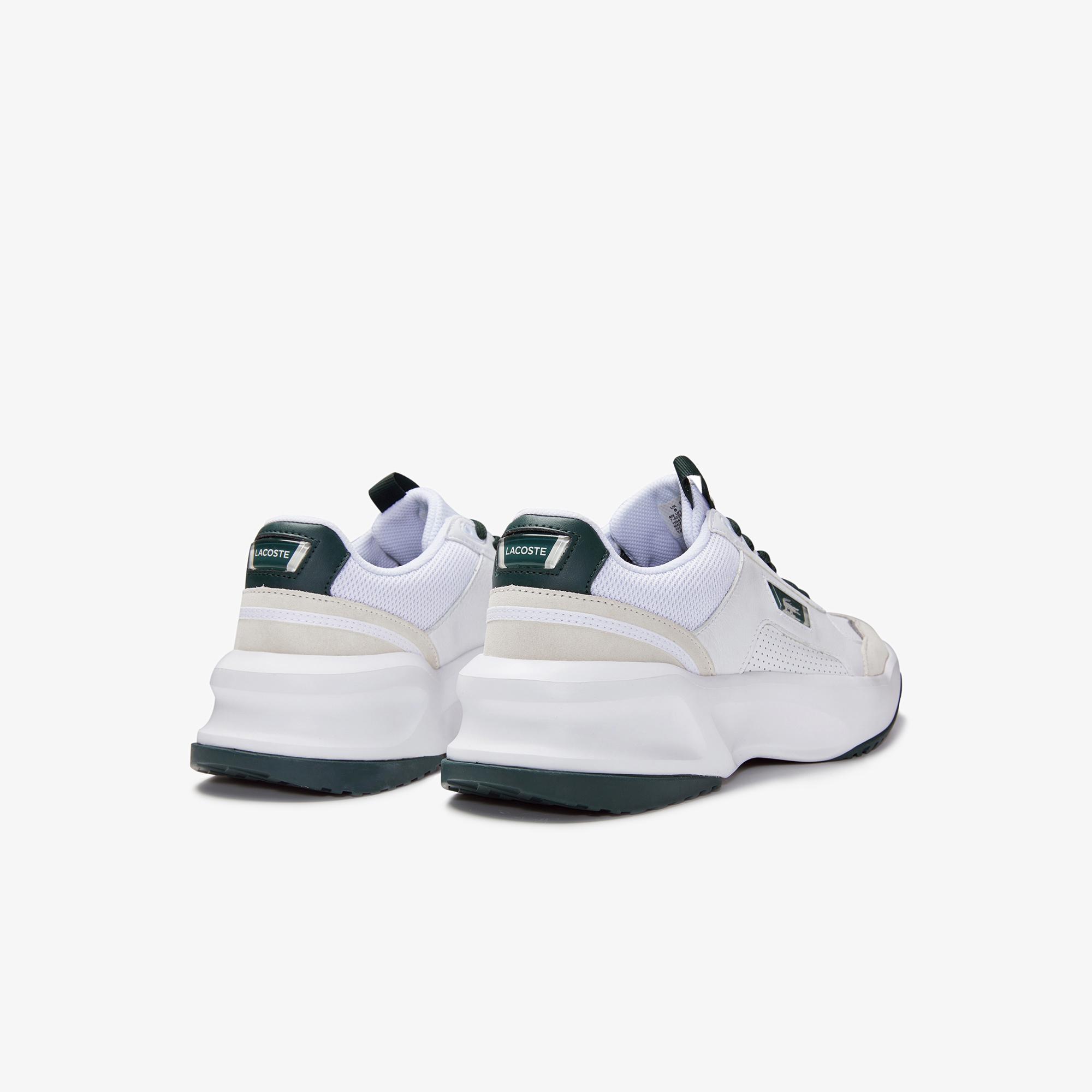 Lacoste Men's Ace Lift Colourblock Leather Reflective Sneakers