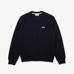 Lacoste Men's Organic Cotton Piqué Crew Neck Sweatshirt