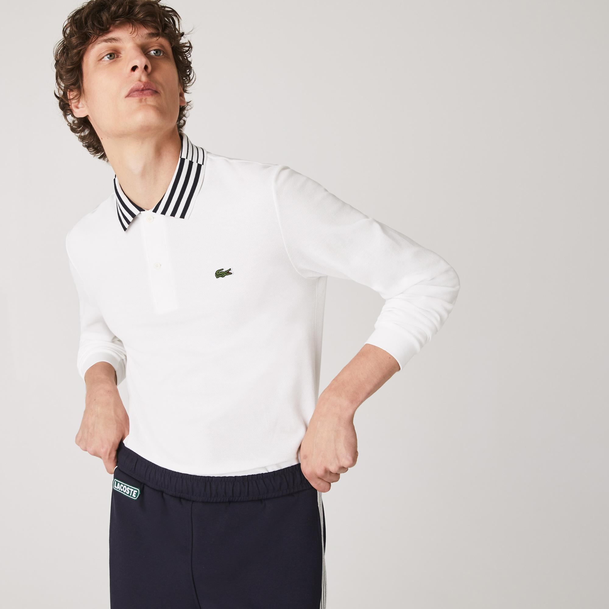 Lacoste Men's Slim Fit Heritage Cotton Polo Shirt