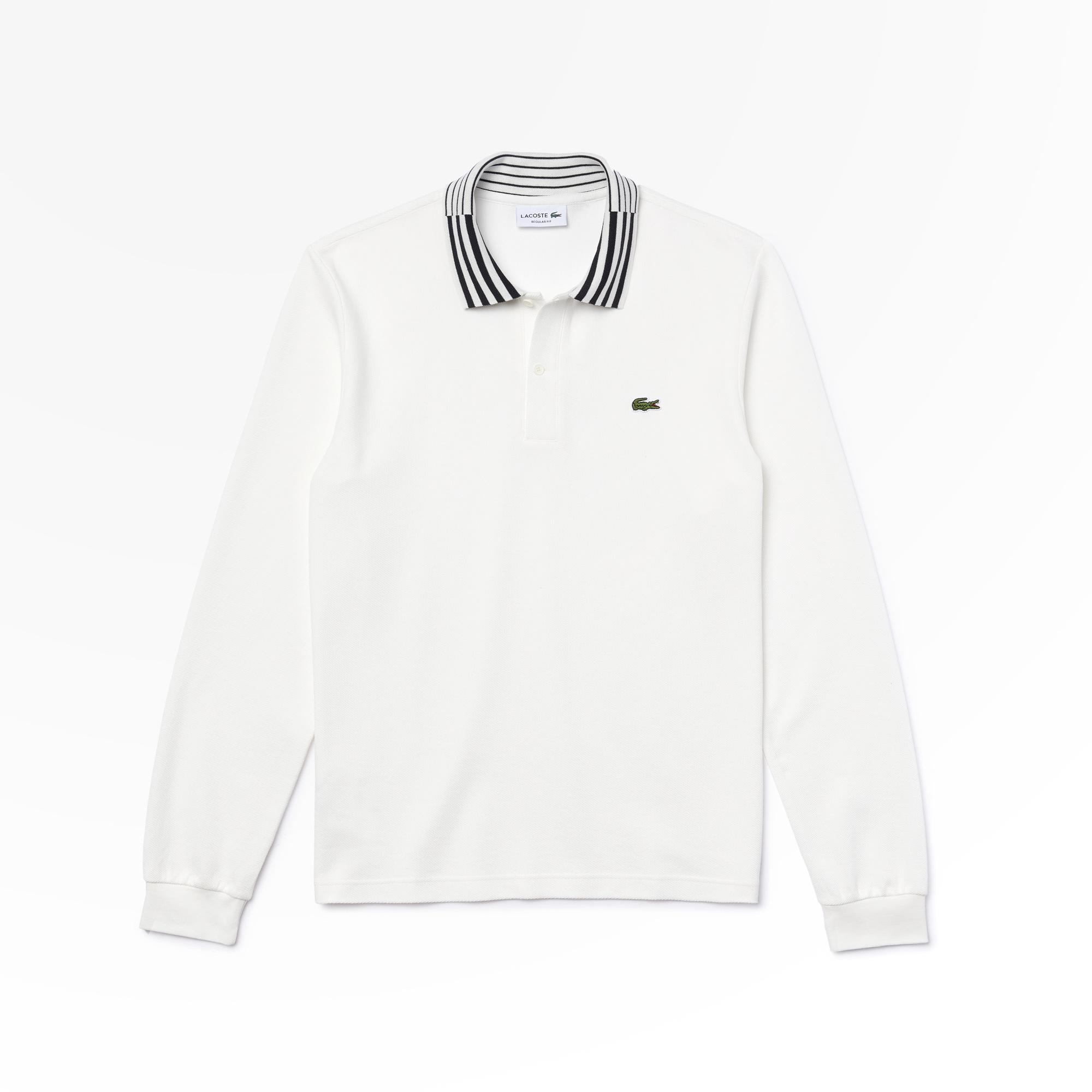 Lacoste Men's Slim Fit Heritage Cotton Polo