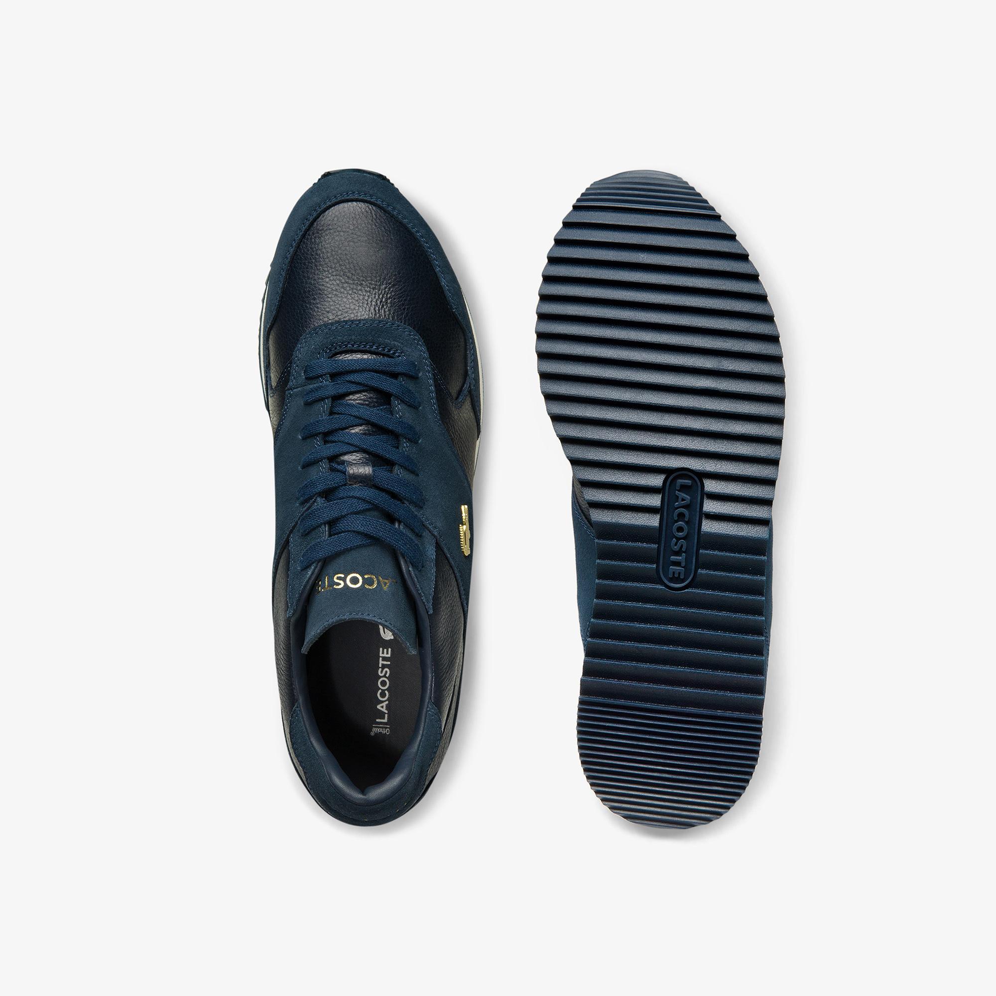 Lacoste Men's Aesthet Luxe Leather Sneakers
