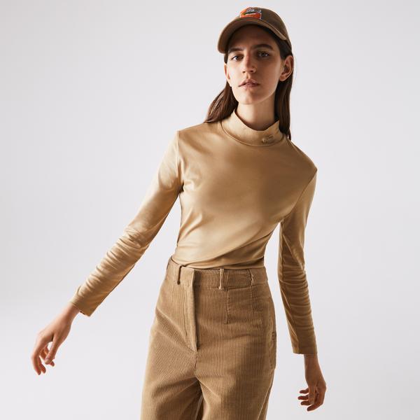 Lacoste Women's Cotton Turtleneck