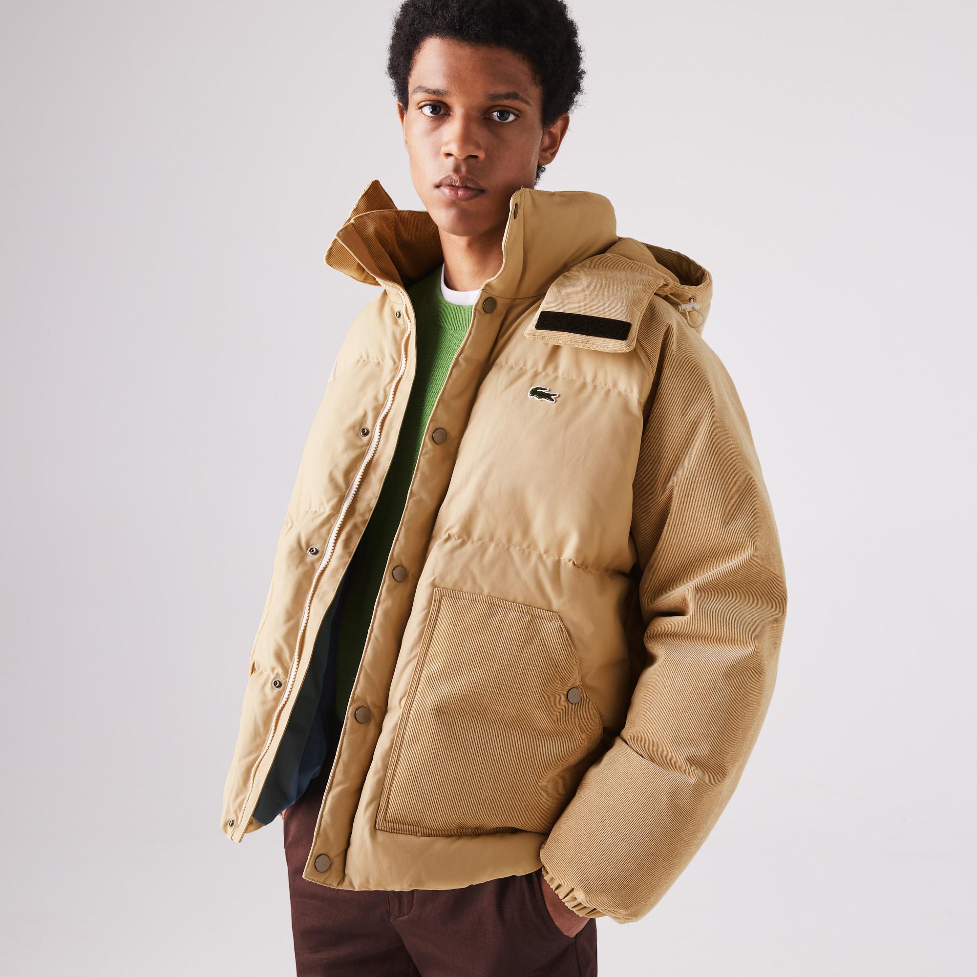 Lacoste Men's LIVE Hooded Short Jacket