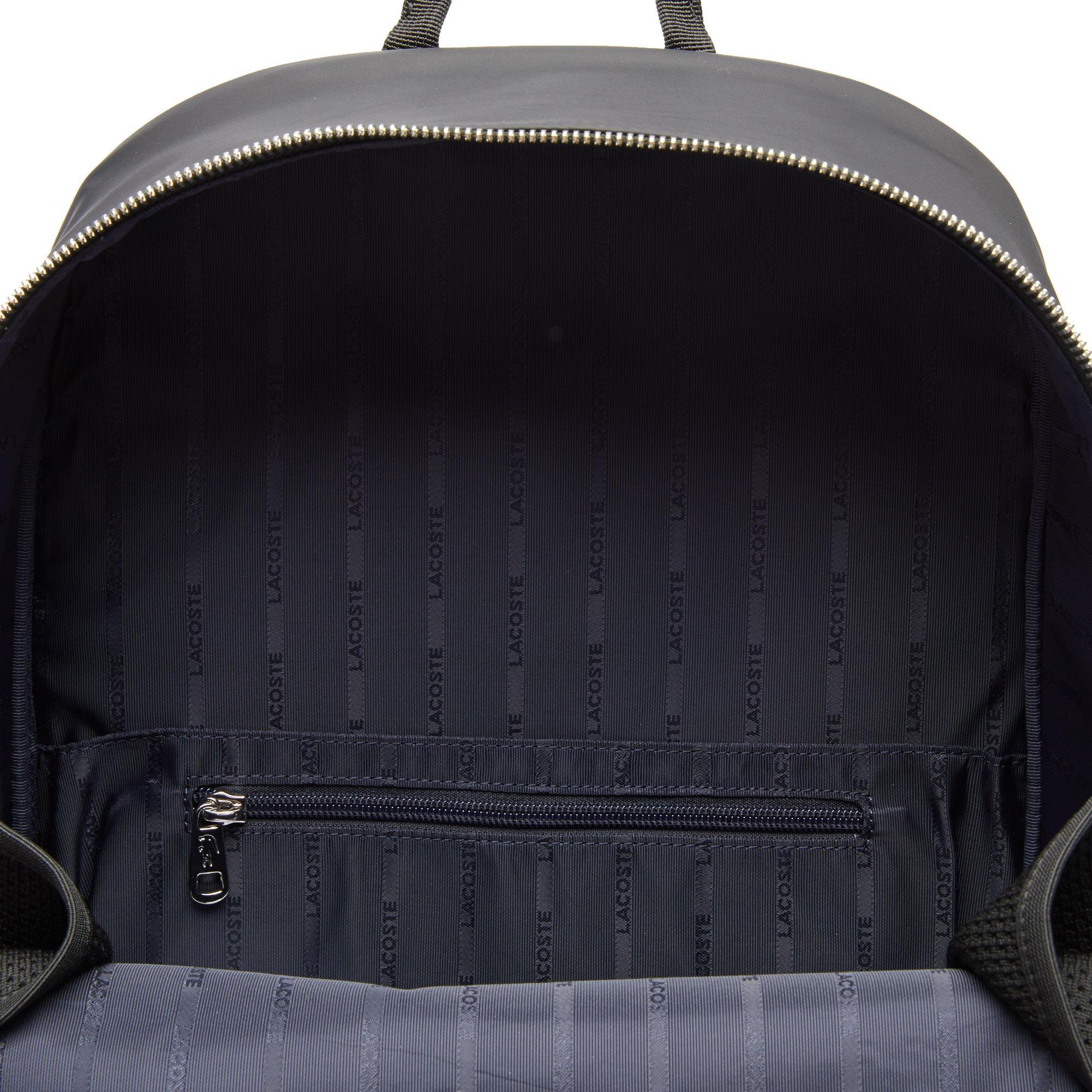Lacoste Men's L.12.12 Branded And Strap Backpack
