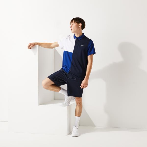 Lacoste Men's SPORT Freshness Technology Breathable Piqué Polo