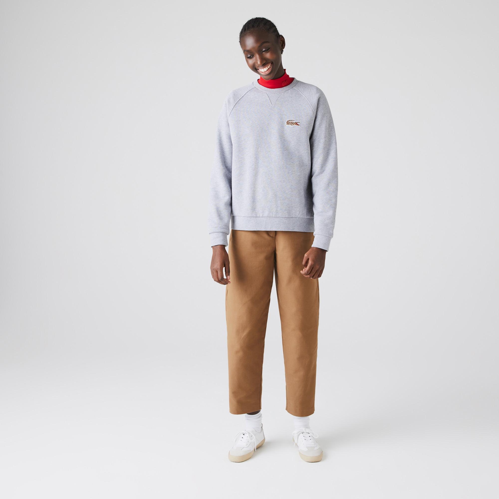 Lacoste Women's x National Geographic Cotton Fleece Sweatshirt