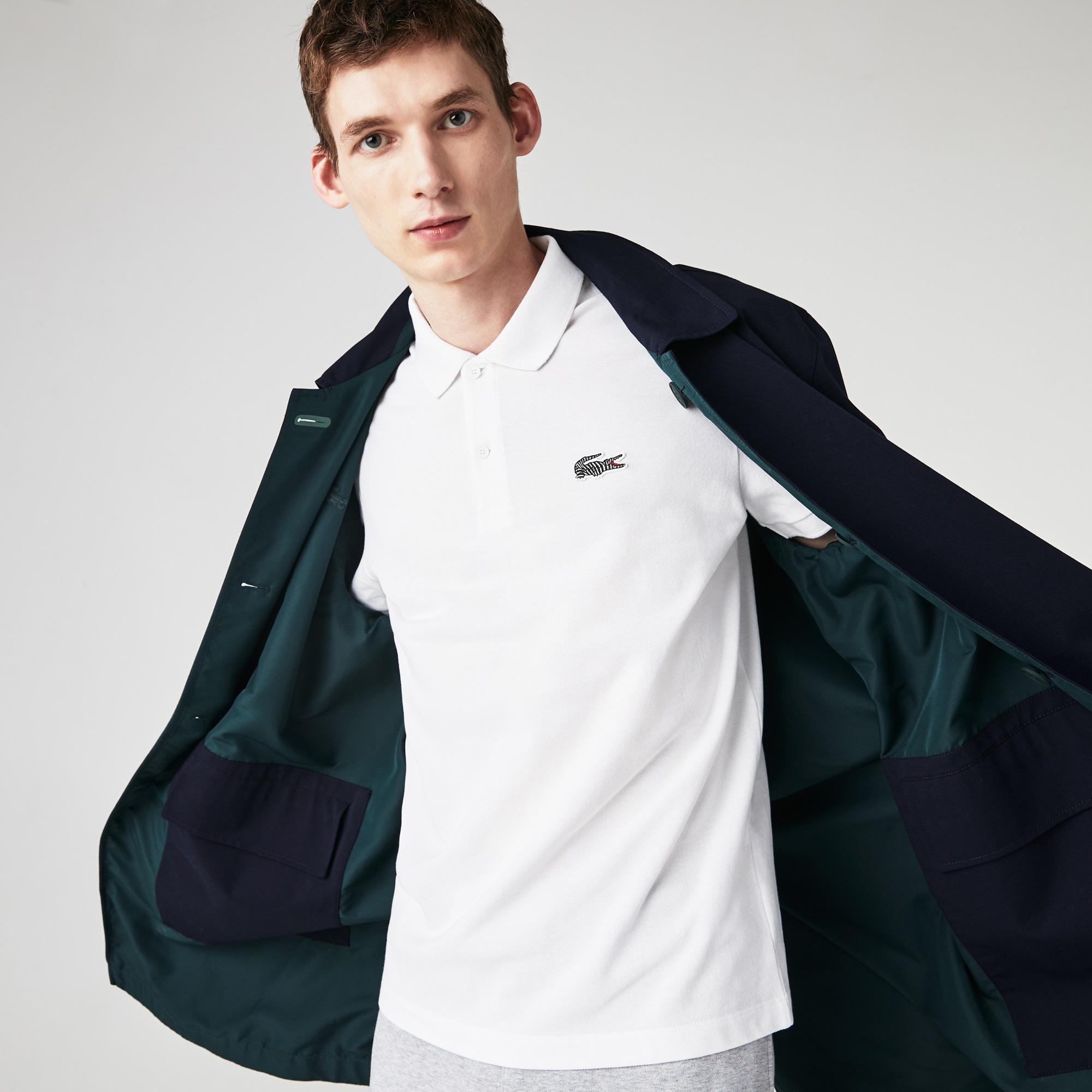 Lacoste Men's x National Geographic Organic Cotton Piqué Polo
