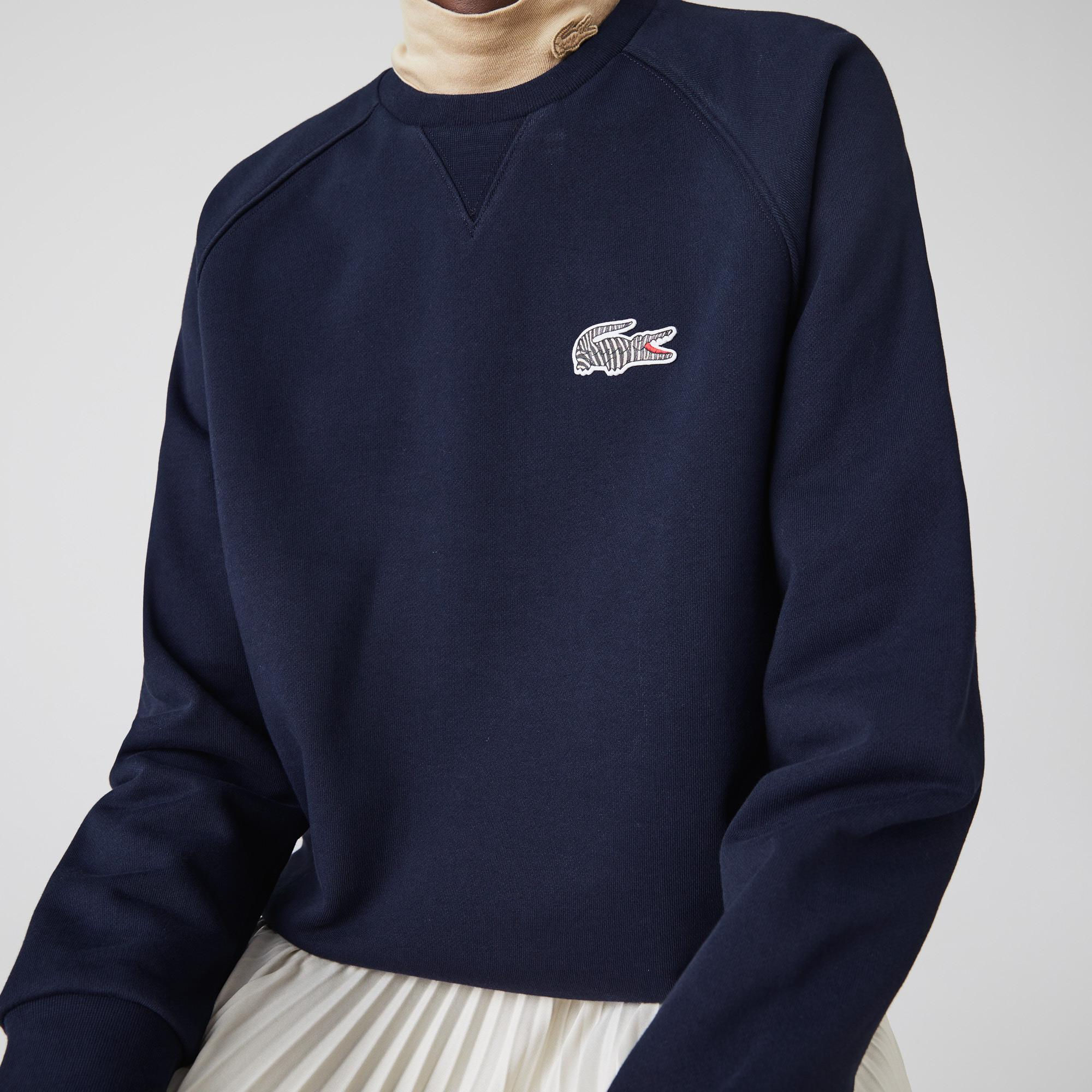 Lacoste Women's x National Geographic Cotton Fleece Sweatshirt