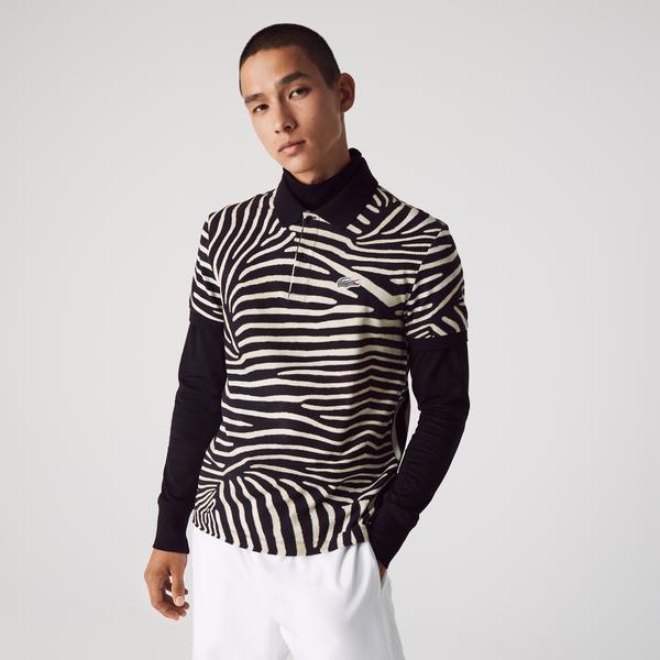 Lacoste x National Geographic Men's Print Cotton Piqué Polo Shirt