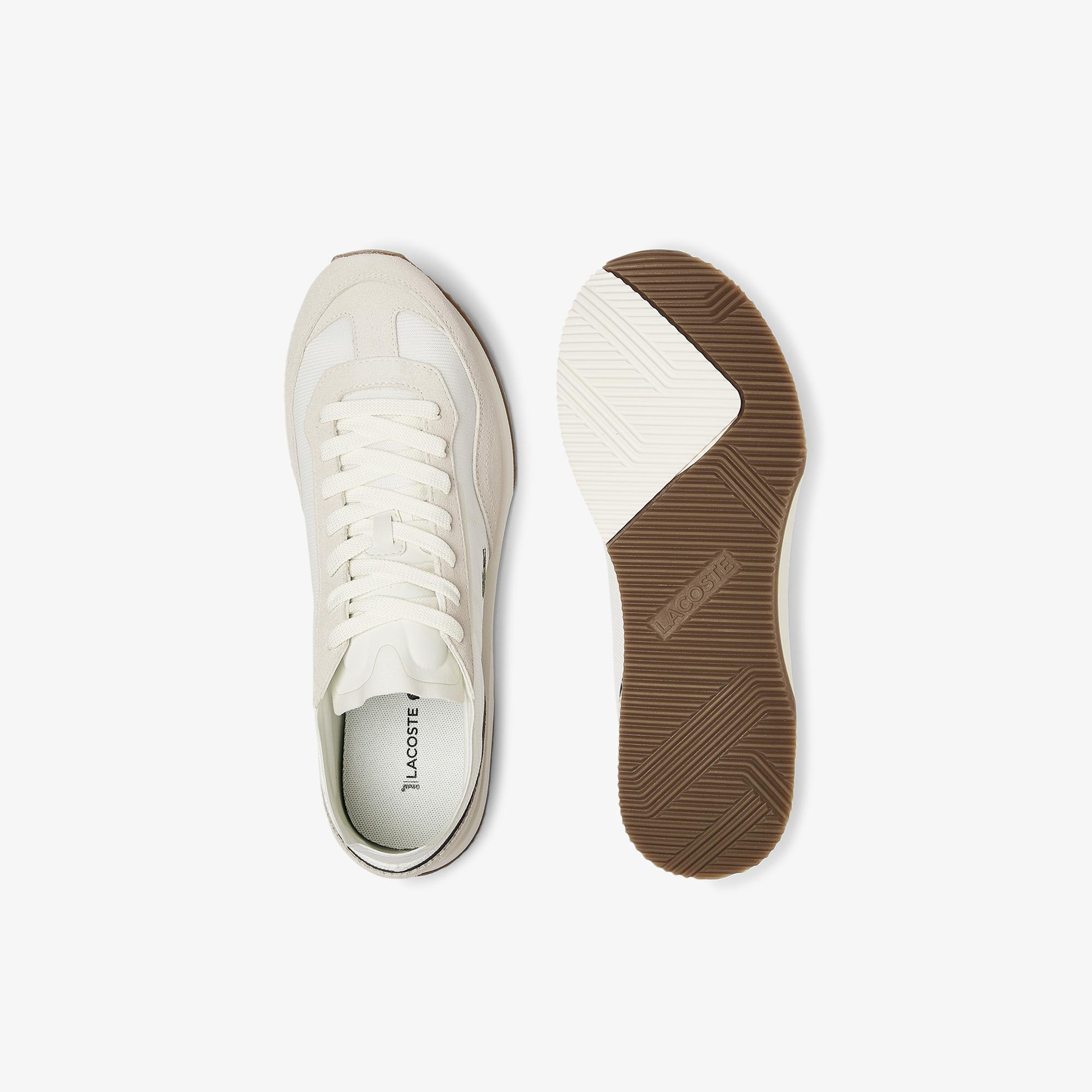 Lacoste Men's Match Break Textile and Suede Trainers