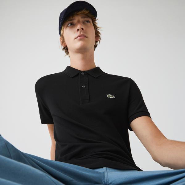 Lacoste Men's Slim Fit Polo İn Petit Piqué