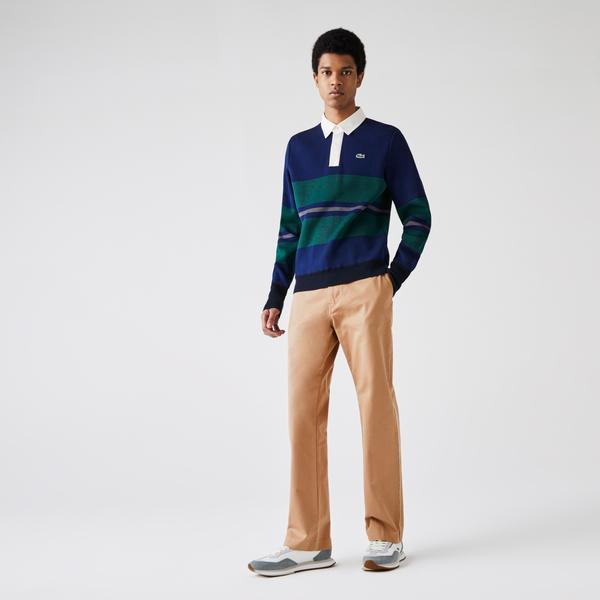 Lacoste Men's Lacoste LIVE Five-Pocket Chino Pants