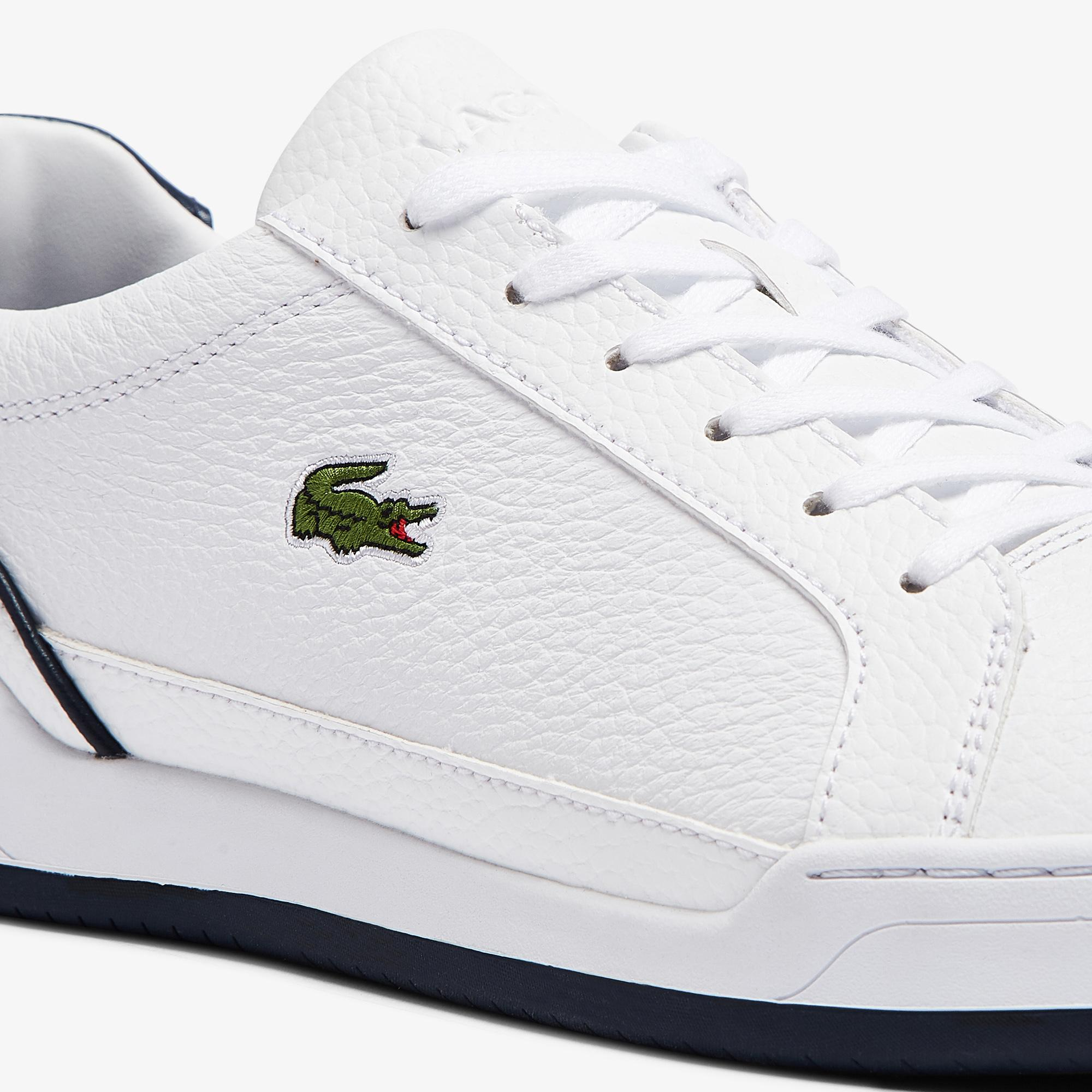 Lacoste Men's Challenge Leather Trainers